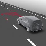 Sõidurajalt lahkumise hoiatussüsteem