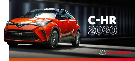 Простись с обыденностью – новый Toyota C-HR 2020
