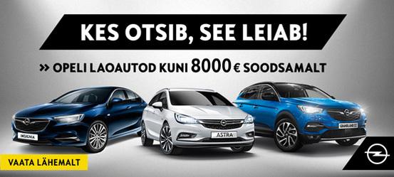 Opeli laoautod