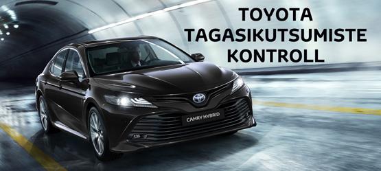 Toyota tagasikutsumiste kontroll
